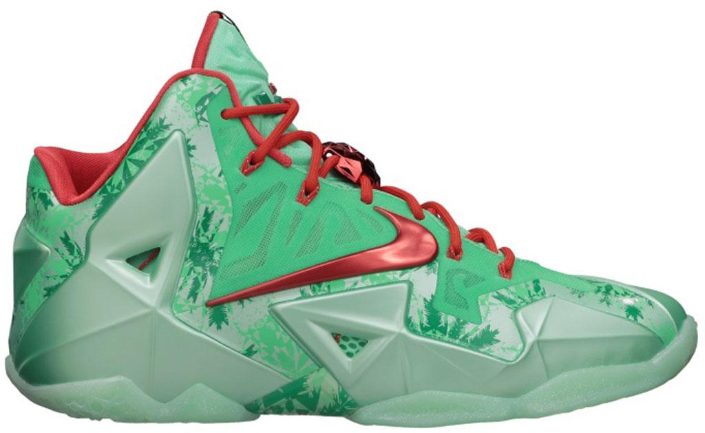 Nike LeBron 11 \u0026#39;Miami Nights\u0026#39; 616175-003 Black/Metallic Silver-Pink Foil