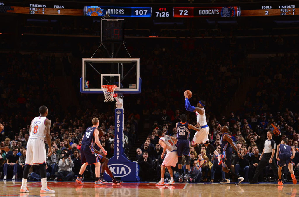 Carmelo Anthony Scores 62 Points in 'Knicks' Jordan Melo M10 (7)