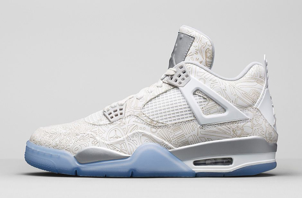 air jordan force 4 laser label