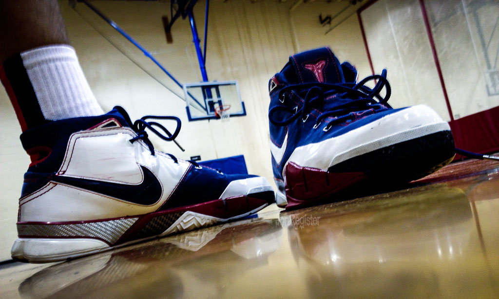 Spotlight // Forum Staff Weekly WDYWT? - 11.4.13 - Nike Zoom Kobe 1 USA by JonRegister