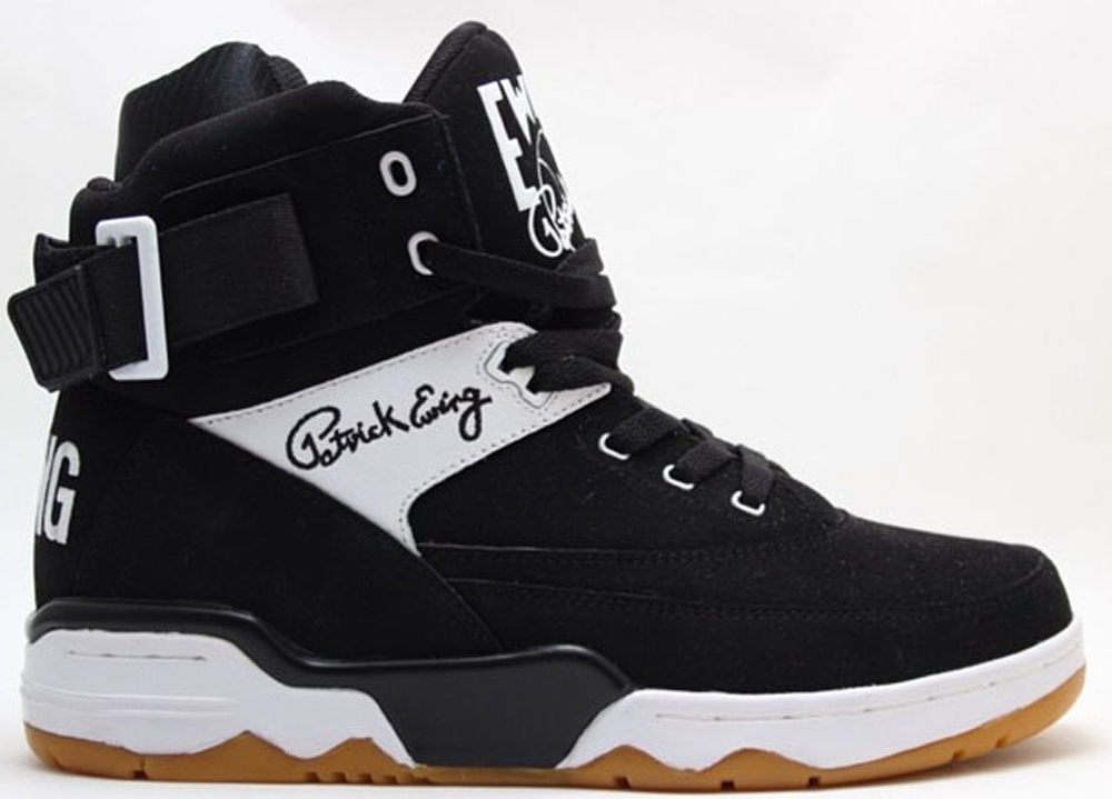 Ewing Athletics Ewing 33 Hi Black/White-Gum