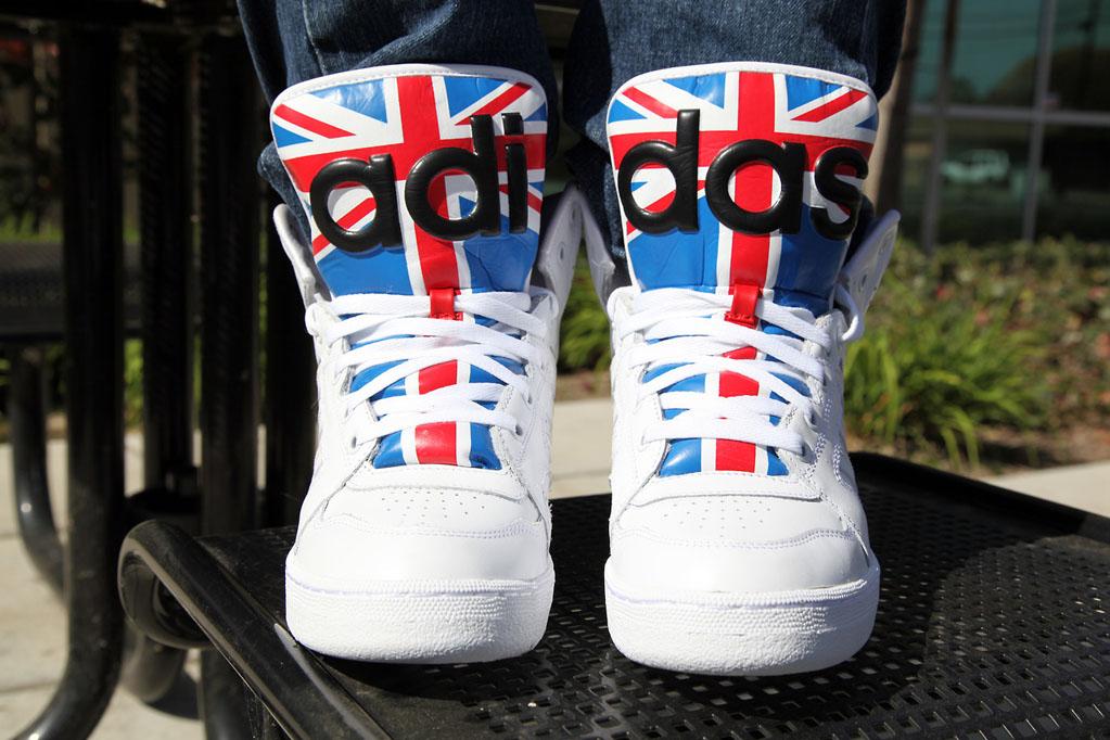low priced 4ff5a 91755 adidas jeremy scott instinct hi rainbow, Basket Adidas Superstar ...