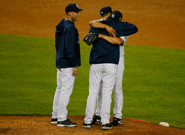 MLB Watch Mariano Rivera final game with Jeter and Pettitte