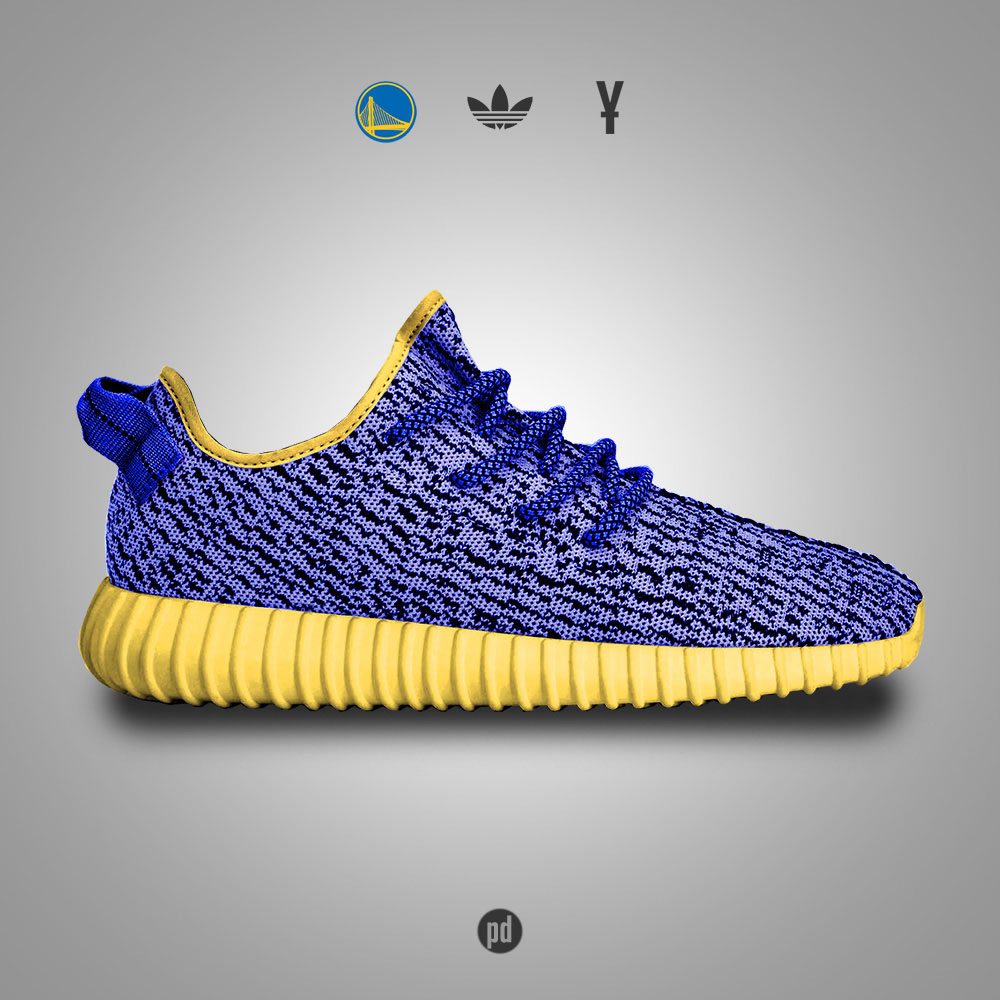 adidas Yeezy 350 Boost for the Golden State Warriors