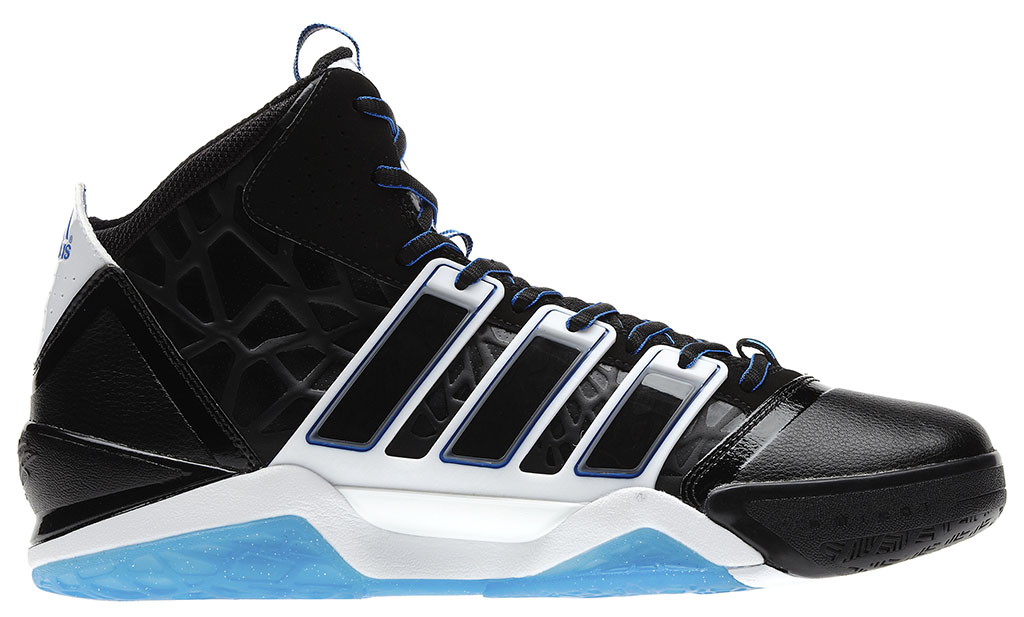f08c09e61 Dwight Howard s Orlando Magic adidas Sneaker History - adiPower Howard 2  Away (1)