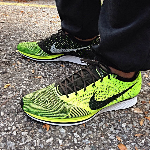 Spotlight // Forum Staff Weekly WDYWT? - 10.12.13 - Nike Flyknit Racer Volt by Uncle