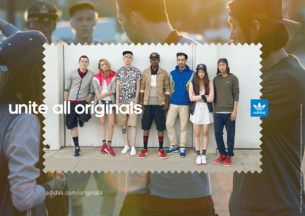 "adidas Originals Launches ""Unite All Originals"" Campaign"