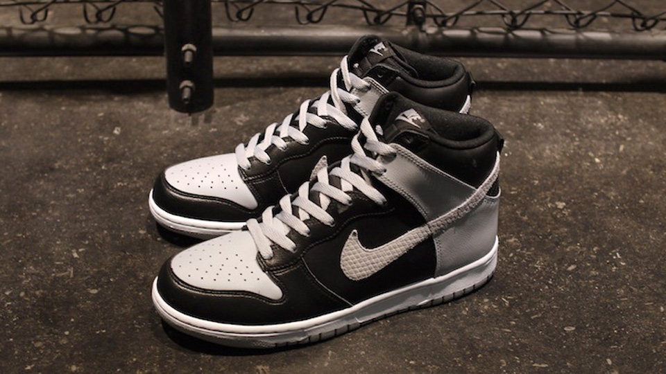huge discount da1b1 8987d nike dunk high le