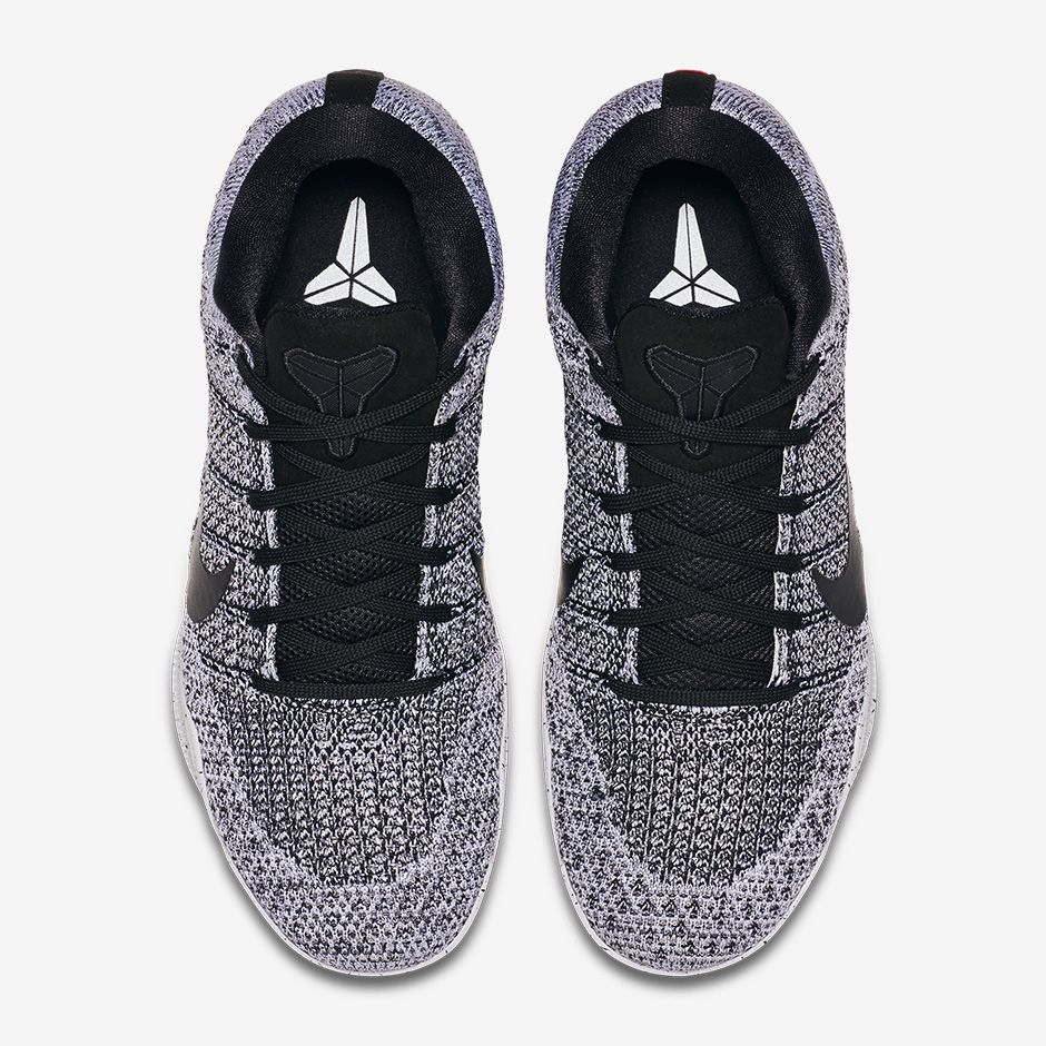 Nike Kobe 11 Elite Low Oreo Top 822675-100 e1e14adb0