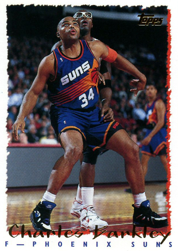 on sale a5df9 93119 This week s Kicks on Cards collection includes shoe sightings on the feet  of Charles Barkley, Dale Davis, Michael Jordan, and more!