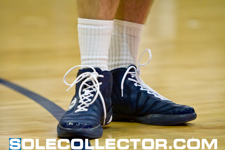 Jimmer Fredette Debuts Spalding Basketball Shoes at Goon Squad Classic   Sole Collector