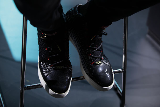 sports shoes 09dd9 ce4a9 While LeBron helped introduce his next on-court (hopefully) shoe, he did so  wearing a pair of the Lifestyle edition. Take a first look here, and let us  know ...