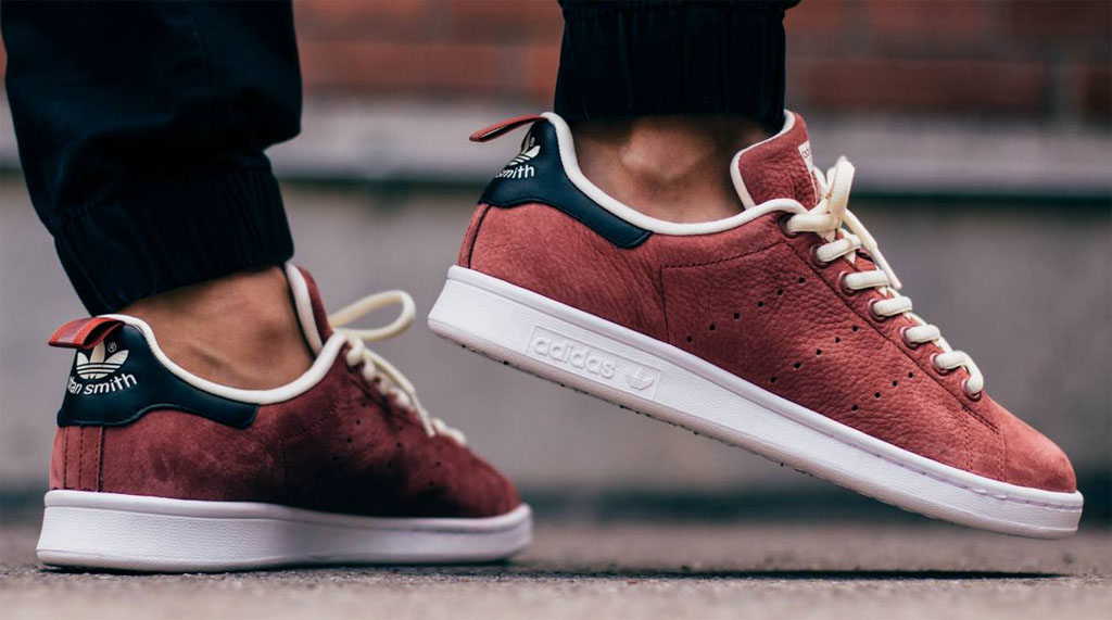 adidas Stan Smith Rust Red (3)