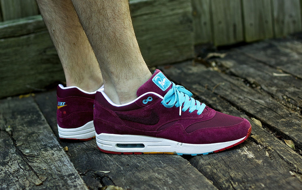 Spotlight // Forum Staff Weekly WDYWT? - 8.24.13 - Patta x Parra x Nike Air Max 1 Burgundy by Trav409