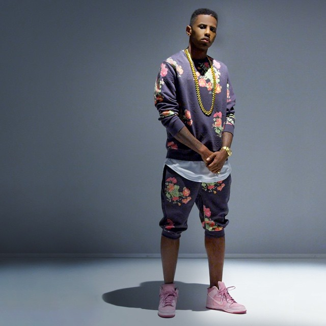 new product bac8d a45a0 Fabolous wearing the Nike Dunk High