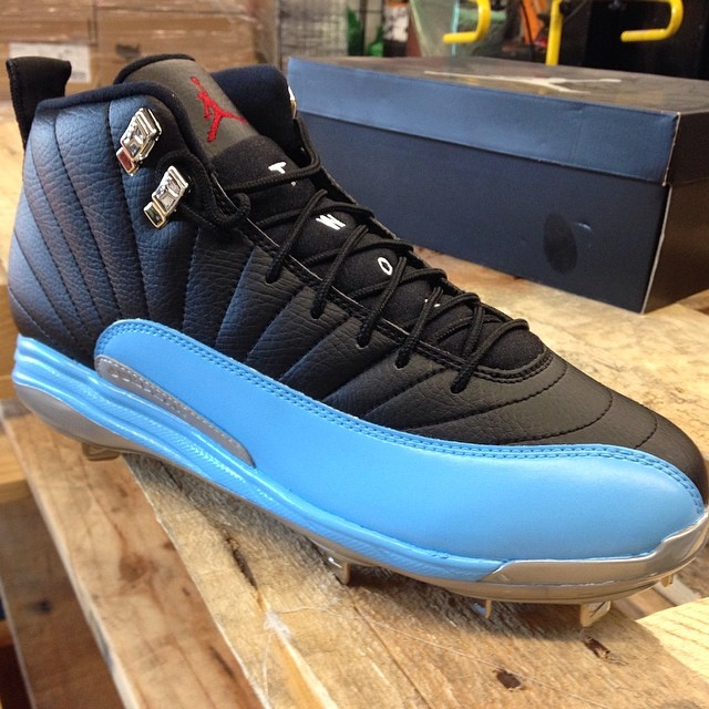 the best attitude c3079 d5c9c Air Jordan XII 12 Father s Day Baseball Cleats by Recon (1)