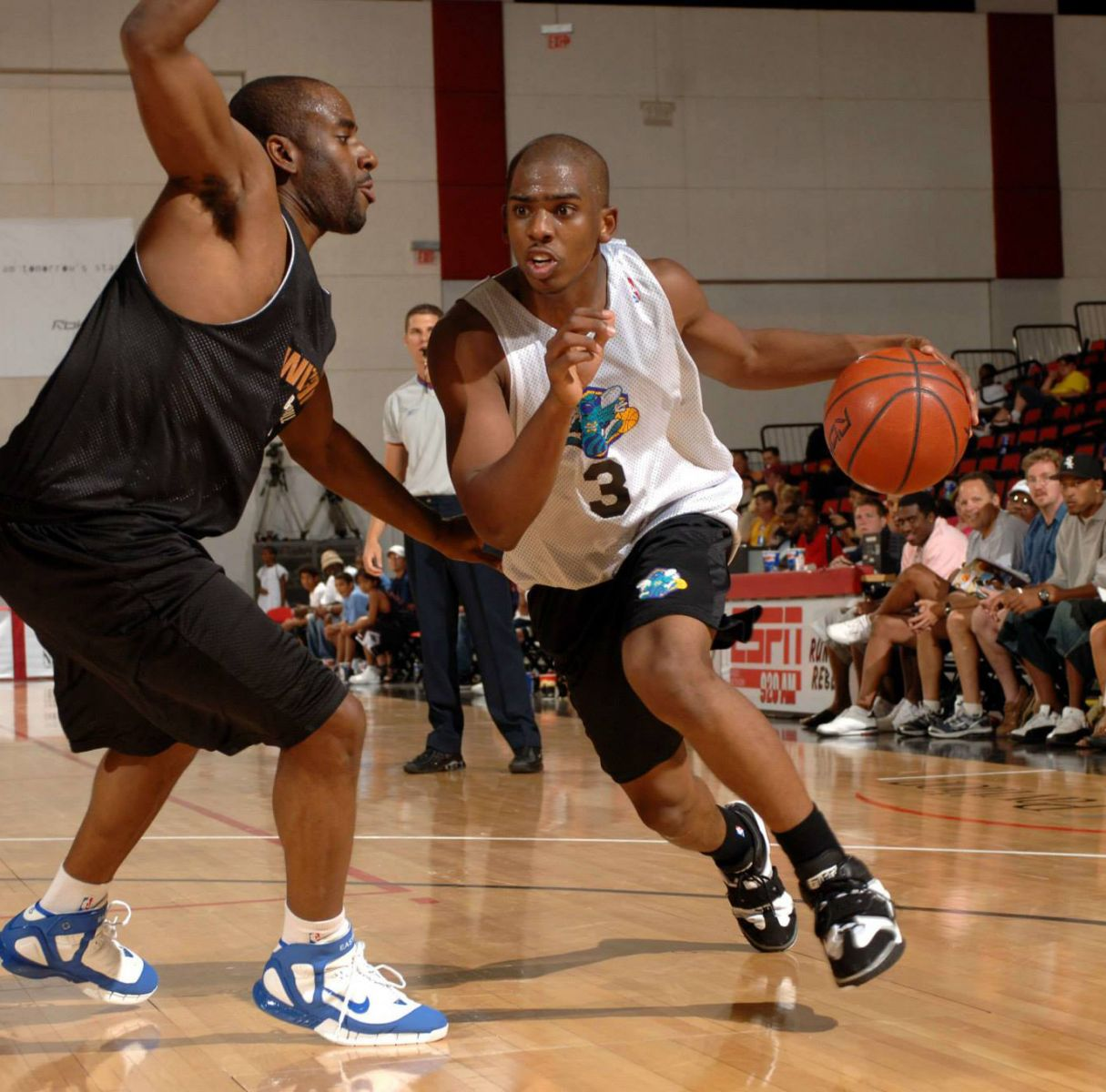 Chris Paul wearing the Nike Air Force Operate