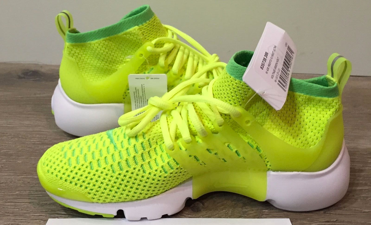 the latest 5ef03 f699b Nike Flyknit Presto Flyknit Ultra Voltage Green Volt 835738-300 (4)