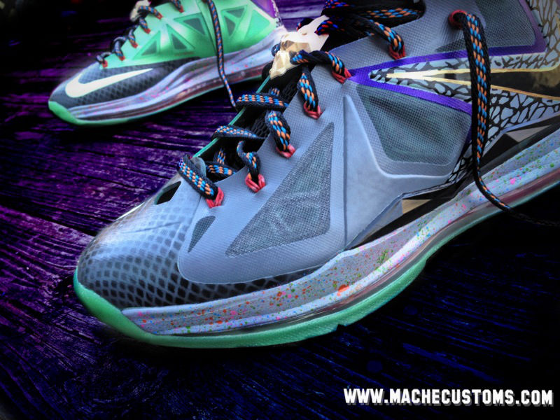 Nike LeBron X Mita by Mache Custom Kicks (2)