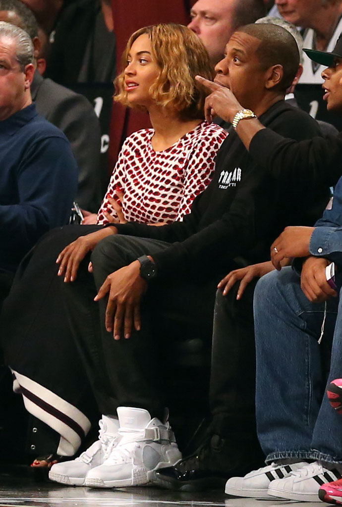 Jay Z wears Pigalle x Nike Air Raid White (2)