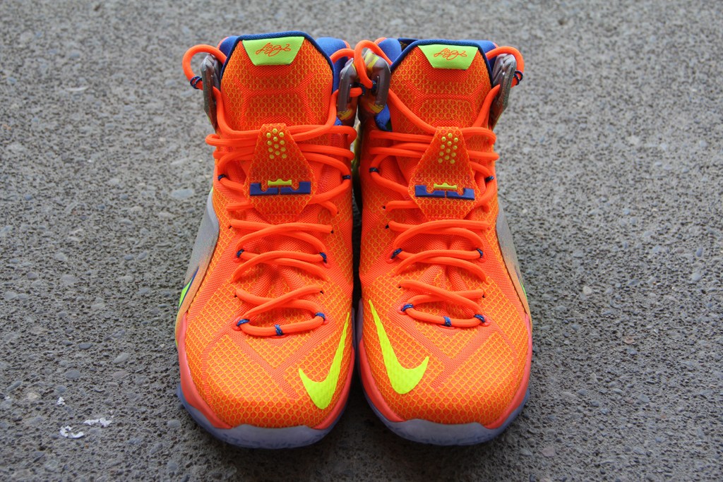 186b0d2a3ef4 A Detailed Look at the  Six Meridians  Nike LeBron 12