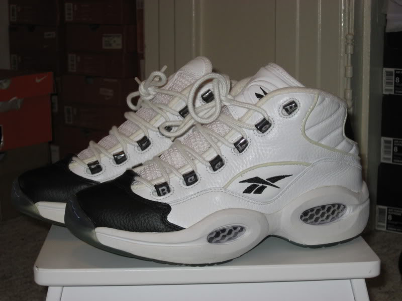Reebok Question White/Black