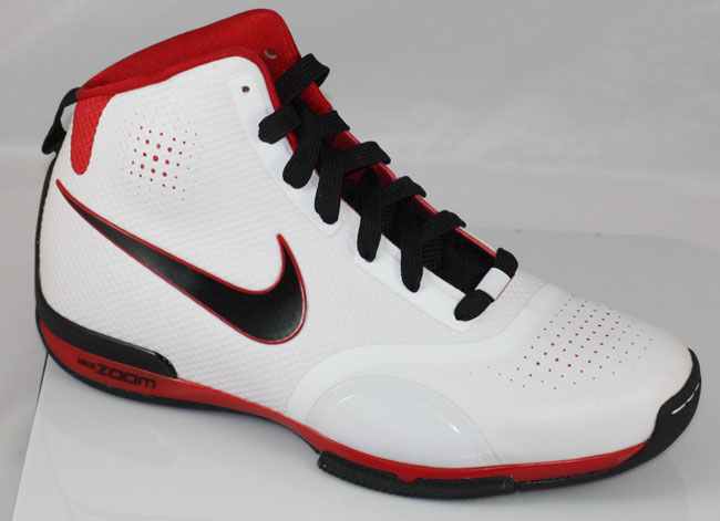 first rate ce69f f3244 Nike Zoom BB 1.5 - White Black Red
