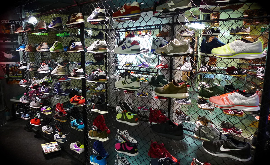 Top Sneaker Boutiques mita Tokyo photo by Brennan Hiro Williams