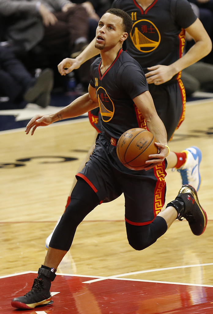 Stephen Curry Wears Chinese New Year Under Armour Curry