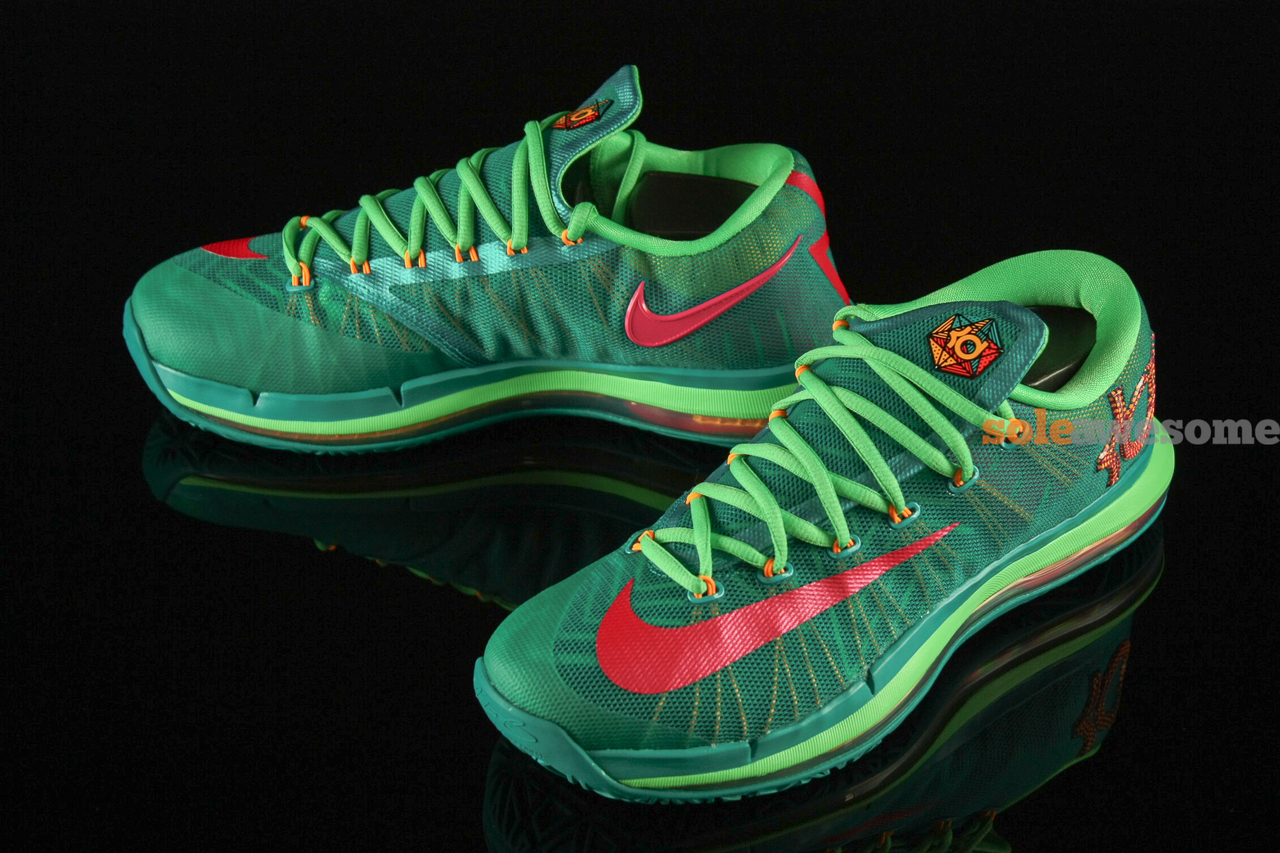 free shipping dbb46 befa5 Nike KD VI Elite - Turbo Green