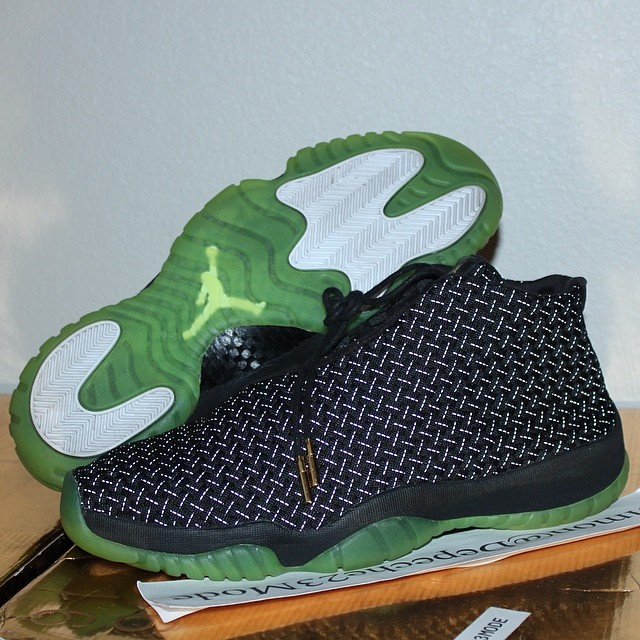 Air Jordan Future Black/Green Sample