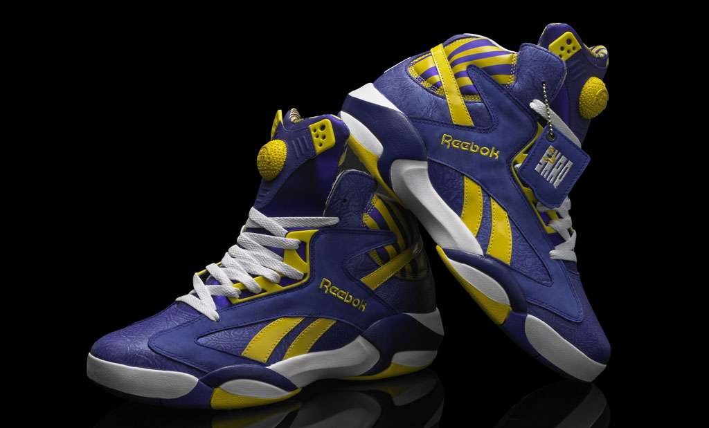 Reebok Shaq Attaq LSU Tigers (8)