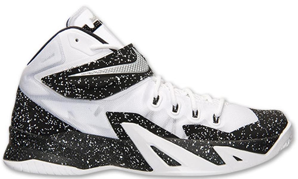 Nike Zoom Soldier VIII Premium White/Metallic Silver-Black