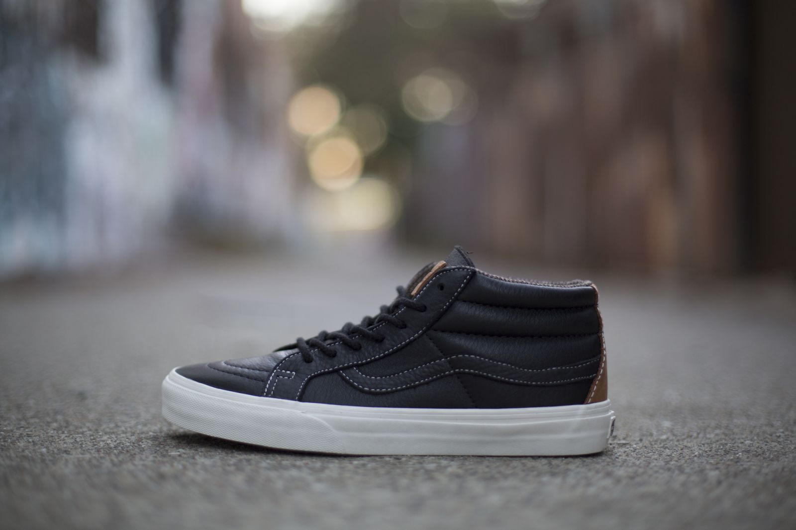 429ecc5f75 Vans California Sk8 Mid - Waxed Leather Pack