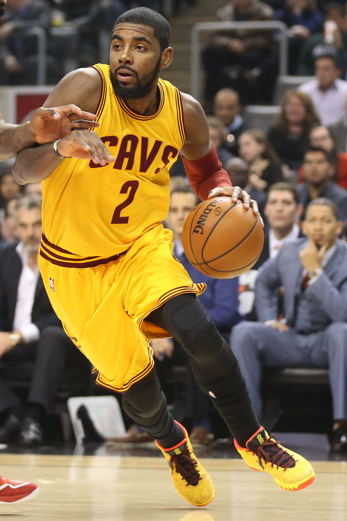 lowest price a59ed 1bb7c  SoleWatch  Kyrie Irving Wears His First Nike Kyrie 1 PE   Solecollector