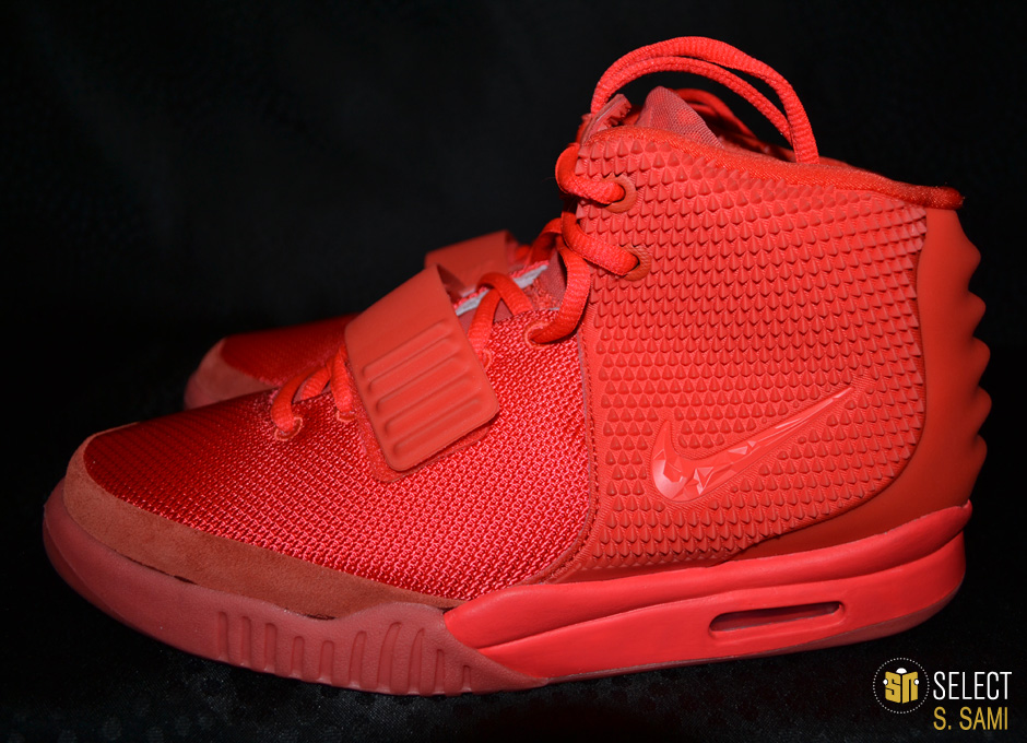 83e55f00407 Nike Air Yeezy II - Red October    Detailed Look
