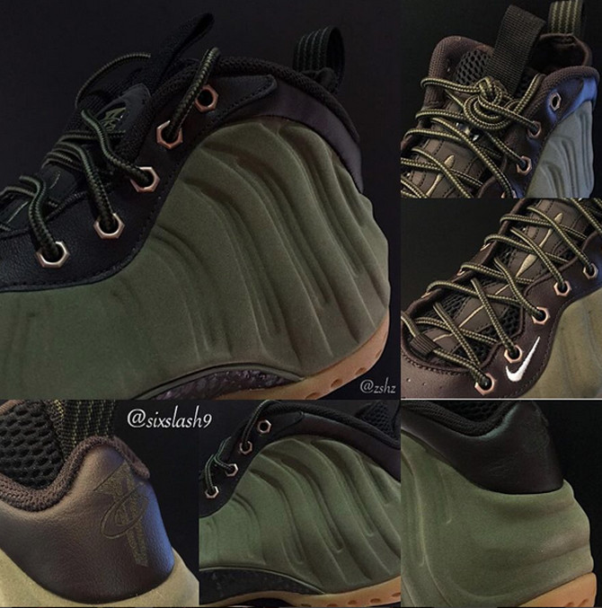 3db82770933d4 ... wholesale heres the olive nike air foamposite one officially sole  collector ab023 9fadf