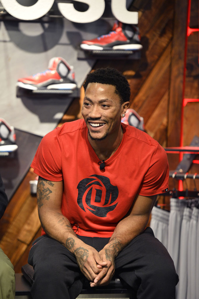 Derrick Rose and adidas Basketball Launch the D Rose 5 Boost in Chicago (10)