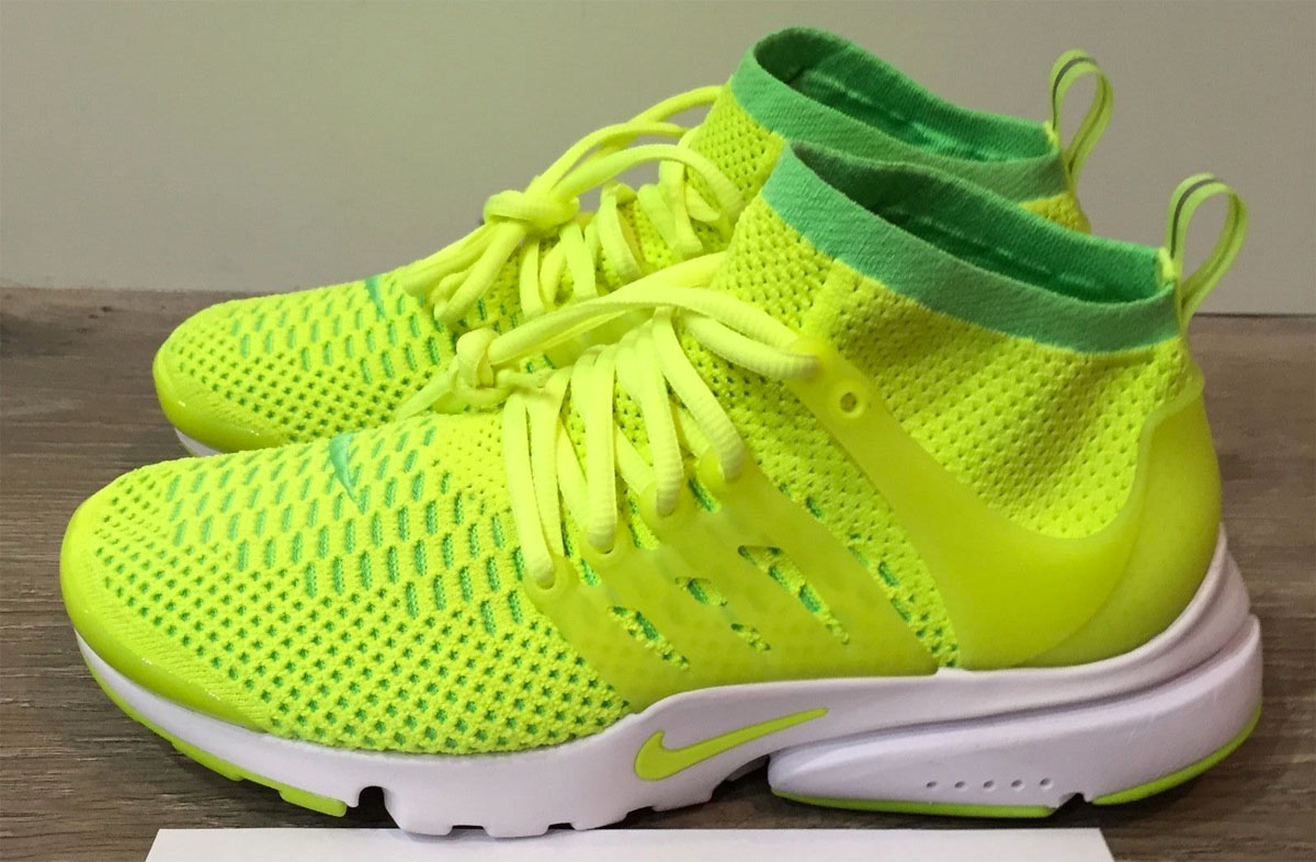 check out de9f8 24479 Nike Flyknit Presto Flyknit Ultra Voltage Green Volt 835738-300 (3)