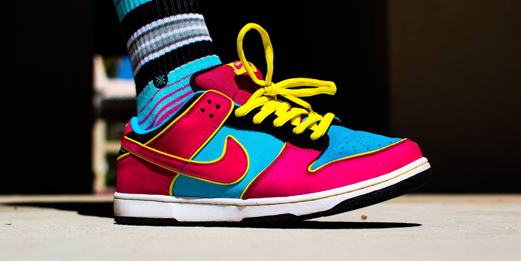 best loved da829 ba97a Smallzgotkickz in the  Ms. Pacman  Nike Dunk Low SB