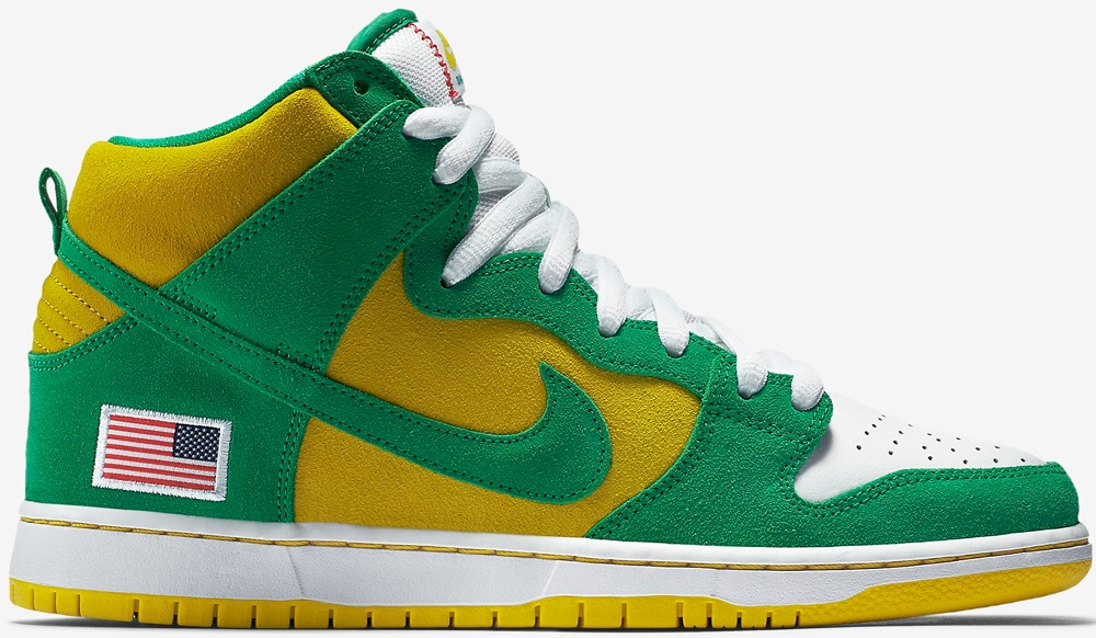 Anonymous x UnheardOf x Nike Dunk High Pro SB Oakland Athletics