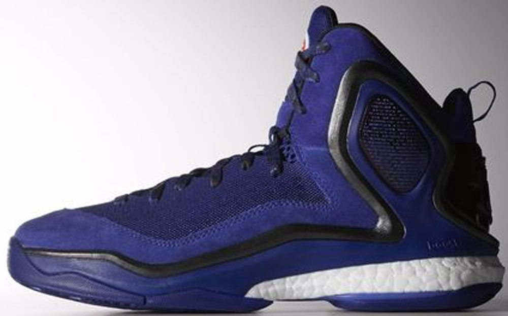 adidas D Rose 5 Boost Amazon Purple/Core Black-Running White