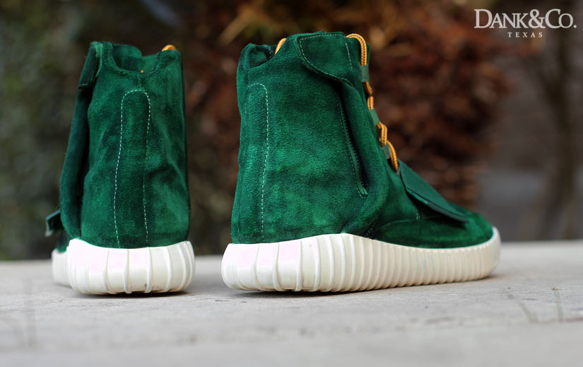 adidas Yeezy 750 Boost Green Moss Custom (2)