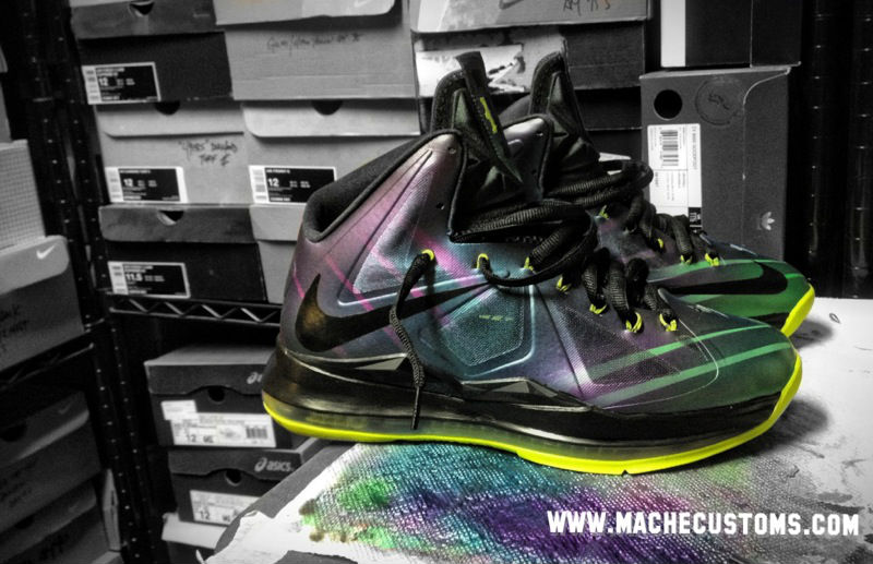 Nike LeBron X Phantom by Mache Custom Kicks (2)
