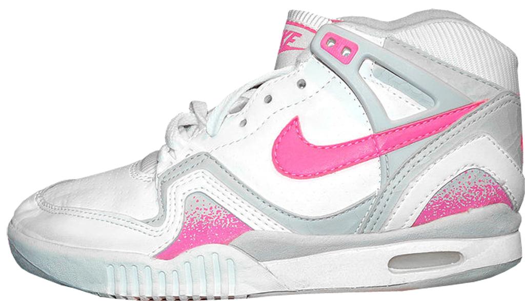info for 16c1e a575a Nike Air Tech Challenge II ¾ Women s 7235 White Fluorescent Pink-Zane  Grey-Zane Grey
