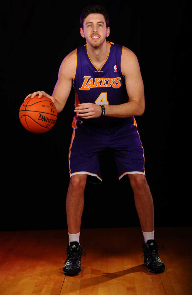 Ryan Kelly wearing adidas Crazyquick