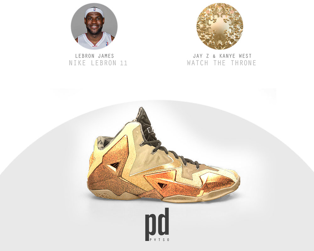 Nike LeBron XI 11 x Watch the Throne