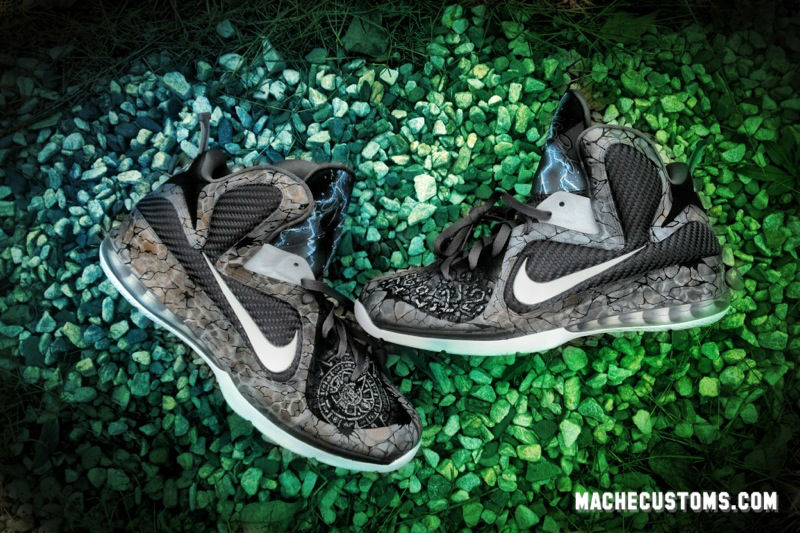 Nike LeBron 9 2012 Apocalypse by Mache Custom Kicks (1)