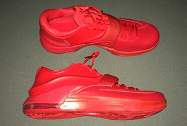 Nike KD VII 7 Red Leather Snakeskin (4)
