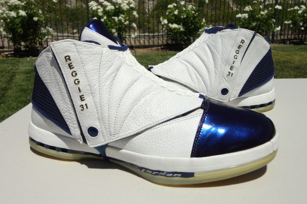Air Jordan XVI 16 Reggie Miller Away PE (2)